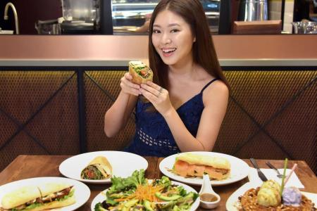 Celeb Chow with Christabel Chua