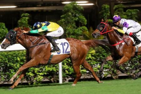 Triumphant Jewel provides Sanna the spark