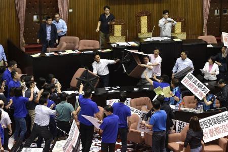 Taiwan's parliamentary chair-men