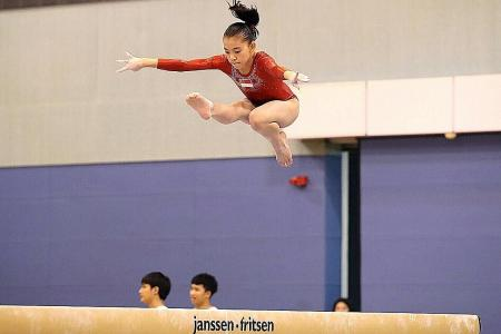 Age is no barrier for gymnast Nydia