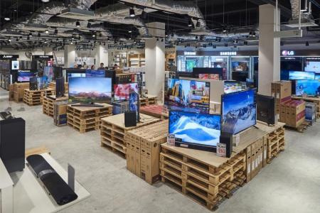 Harvey Norman factory outlet opens at Chai Chee Road