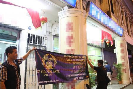 Debt collectors cook up a storm at Jalan Besar restaurant