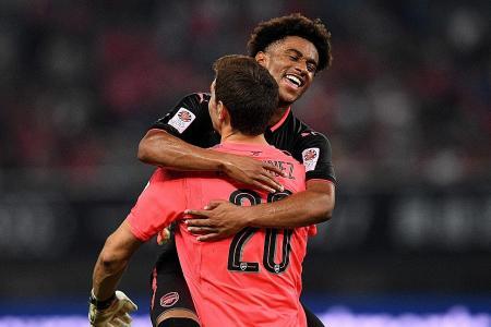 Sports Iwobi Scores as Arsenal Beat Bayern Munich