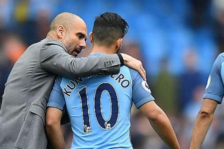 Aguero will stay at City: Pep