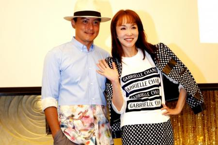 Fann Wong and Christopher Lee to act together again