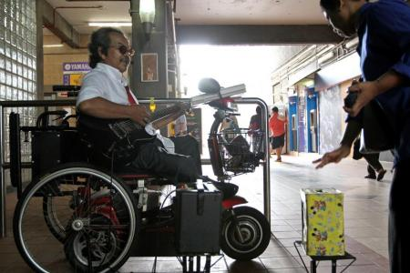 Clementi busker overcomes adversity through music