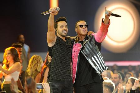 Despacito the most streamed music track of all time
