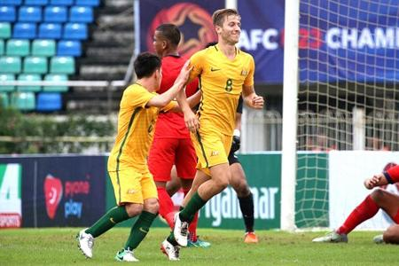 Young Lions' hopes dashed after 7-0 mauling