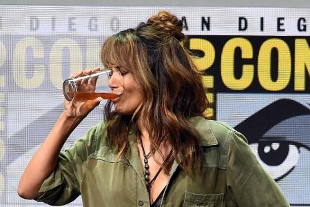 Berry chugs 'bourbon' at Comic-Con Linkin Park singer found dead at home Ryan Seacrest to return as American Idol host next year
