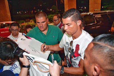 Patience pays off for Ronaldo fans