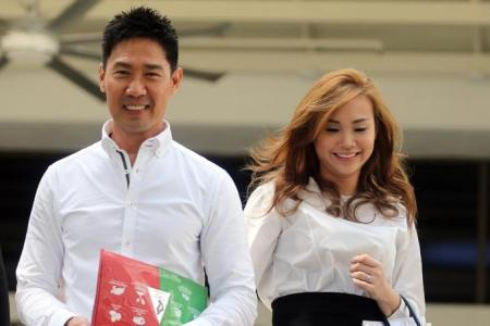 Mr Edmund Chen and Ms Karen Ho Kai Lun