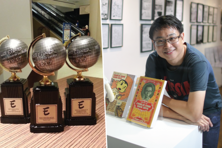 Sonny Liew wins big at the Eisners
