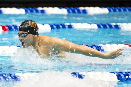 New Asian, national records for Schooling in men's 50m fly