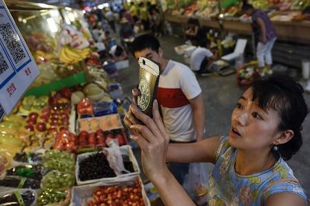 China may be first nation to go cash-free