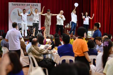 Pioneer Generation volunteers to help the elderly age well