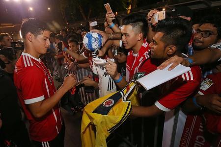 Rodriguez eyes Champs League glory