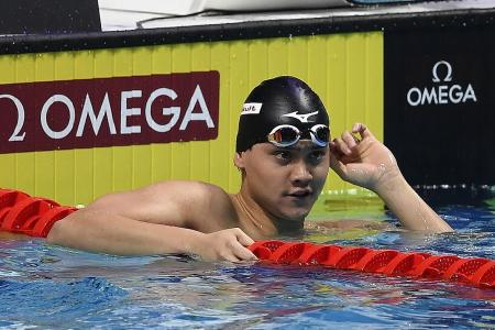Schooling: I can't ask for more