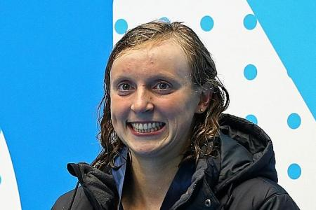 Ledecky set to become first woman to win 12 golds at Worlds