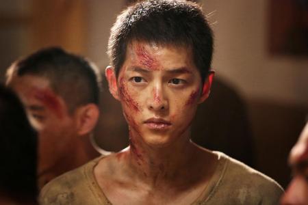 Song Joong Ki here on Aug 8