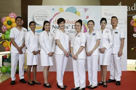 SingHealth nurses to get new look - an all-white uniform