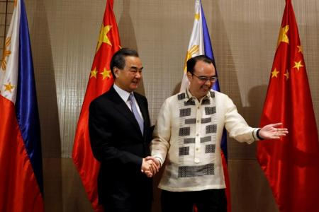 China, Philippines talk joint exploration of disputed waters