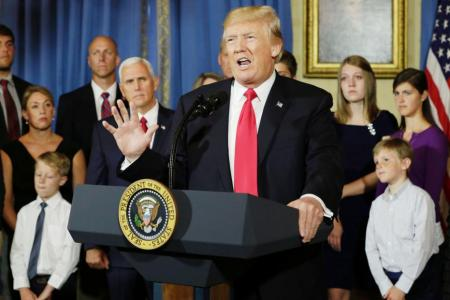 Trump: Now is time for action over Obamacare