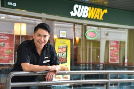 From CNA presenter to owner of a Subway franchise outlet
