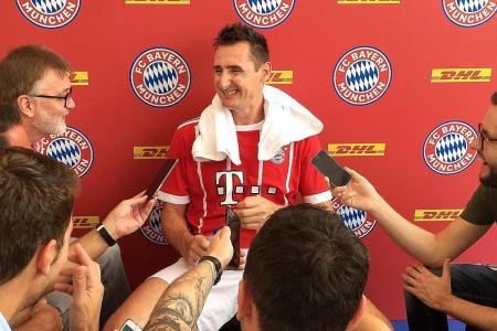 Klose: Germany have answers to No. 9 problem