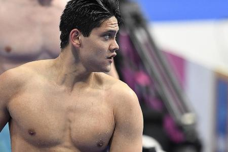 Schooling: It's a good wake-up call for me