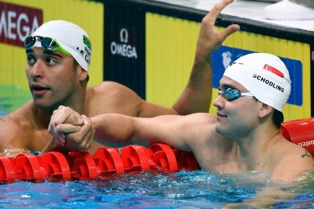 Worlds: Schooling makes 100m fly semi-finals, but Quah misses out again