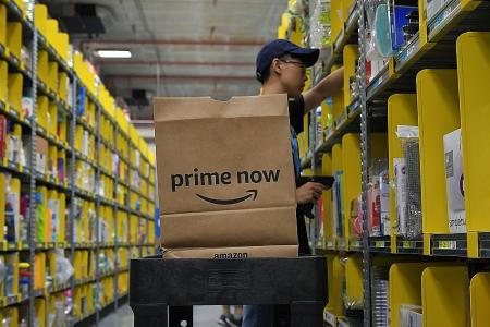 Amazon sales soar as profits fall in expansion push