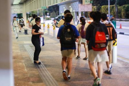 Tuition centres go the extra mile to woo students