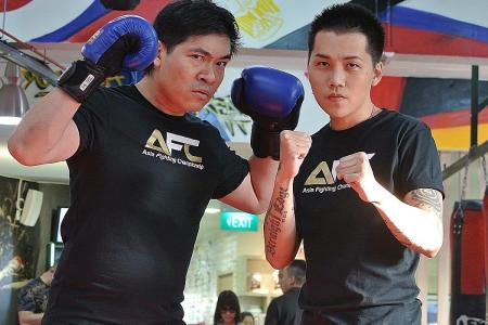 Sim Lim square off: Sylvester and Steven to fight