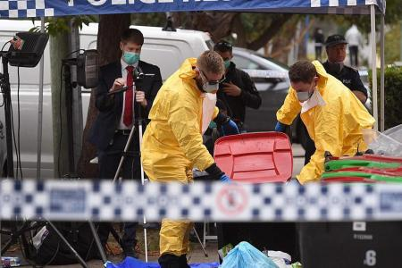 Suspects arrested in Sydney raids tried to hide gas 