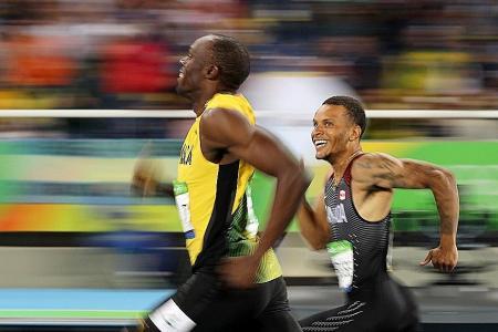 De Grasse: I'd love to beat Bolt