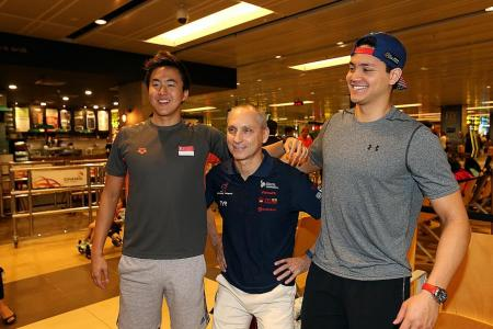 Schooling and Quah raring to go at SEA Games
