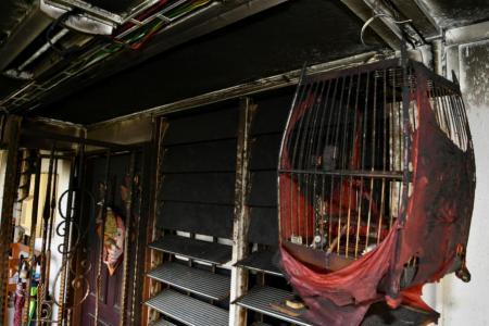 Mum who ran into burning flat: 'I'd rather perish than let kids die'