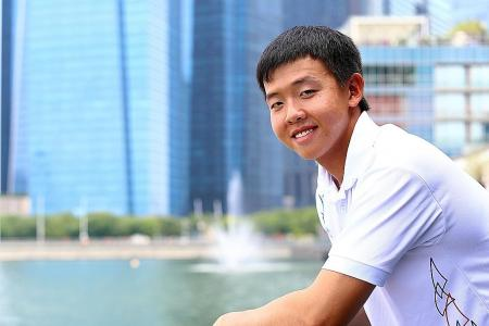 Sailor Lo targets two golds at SEA Games