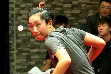 Feng targets clean sweep in her events