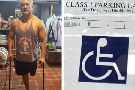MSF: We will exercise flexibility over handicapped parking lots
