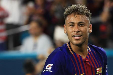 Neymar pledges trophy haul after world record transfer to PSG