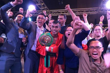 Rizan wins WBC Asia Continental bantamweight title