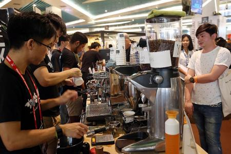 More variety at the Singapore Coffee Festival