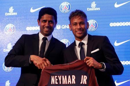 Neymar: I wanted a new challenge