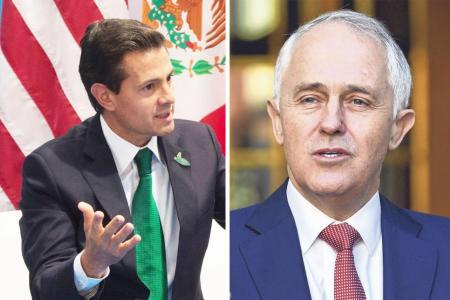 Headache for Trump as calls to Mexico, Australia leaked