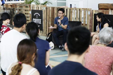 Sonny Liew talks arts funding and the future at Singapore Coffee Festival