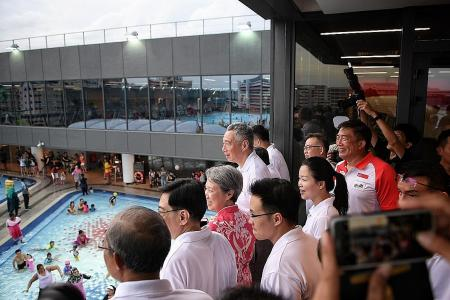 PM opens Our Tampines Hub