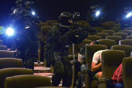Police, SAF coordination key in terror scenario