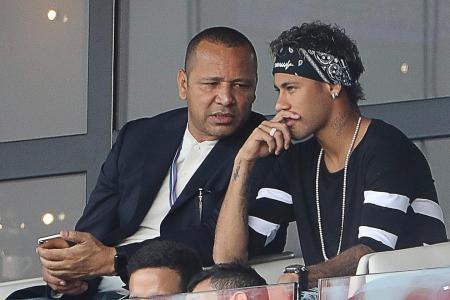 Barca 'blackmailed' Neymar to stay