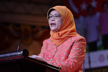 Halimah is first woman to run for president